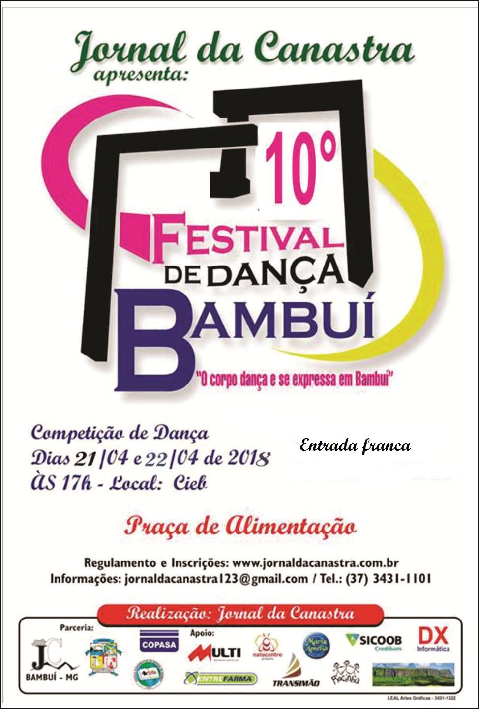 10° Festival de Dança de Bambuí